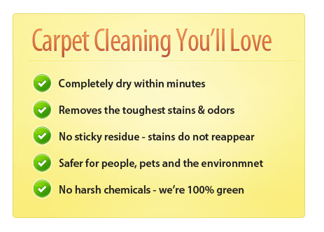 Amarillo Dry Carpet Cleaning - Advantage