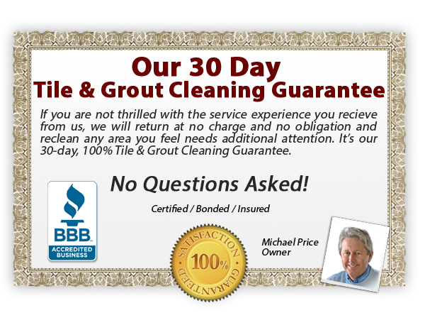 Carpet Cleaning Amarillo - tile & grout cleaning guarantee