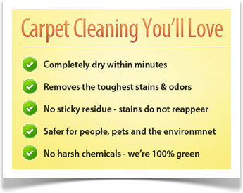 carpet cleaning you'll love