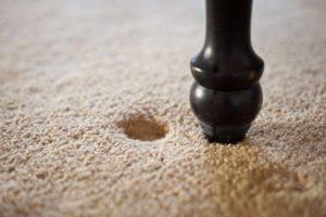 carpet dent remedies