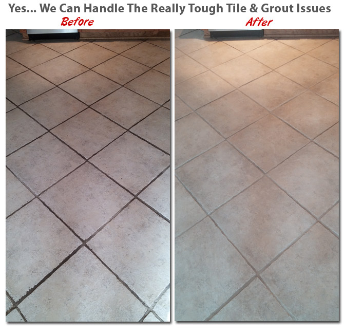 NEPA Dry Organic Carpet Cleaning in Taylor PA tile and grout cleaning
