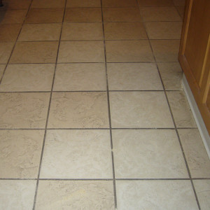 Amarillo dry carpet cleaning - tile cleaning before