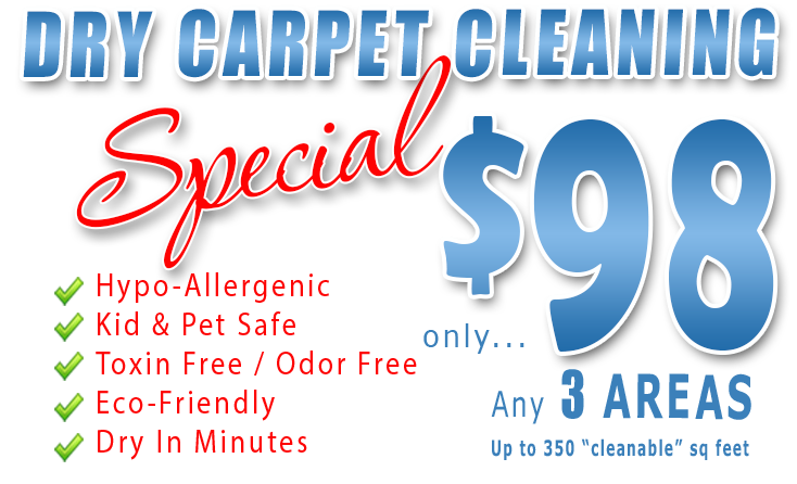 Carpet Cleaning Special - Amarillo Dry Carpet Cleaning
