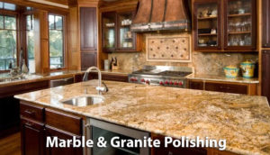 marble and granite polishing and sealing - Amarillo Tx
