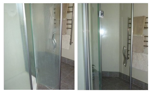shower glass cleaning, sealing and polishing - Amarillo, TX