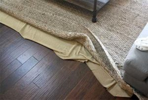 rug grippers - not a good solution