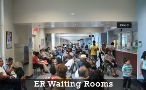 er waiting area sanitizing services